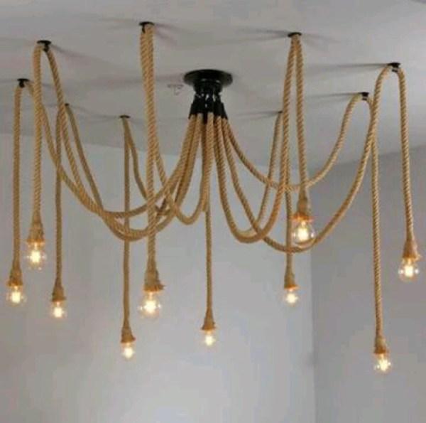 pendant lighting rope # 17