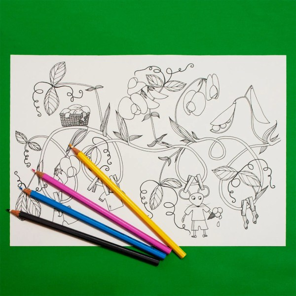 sweet pea coloring pages # 5