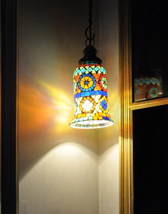 lantern pendant with shade # 30