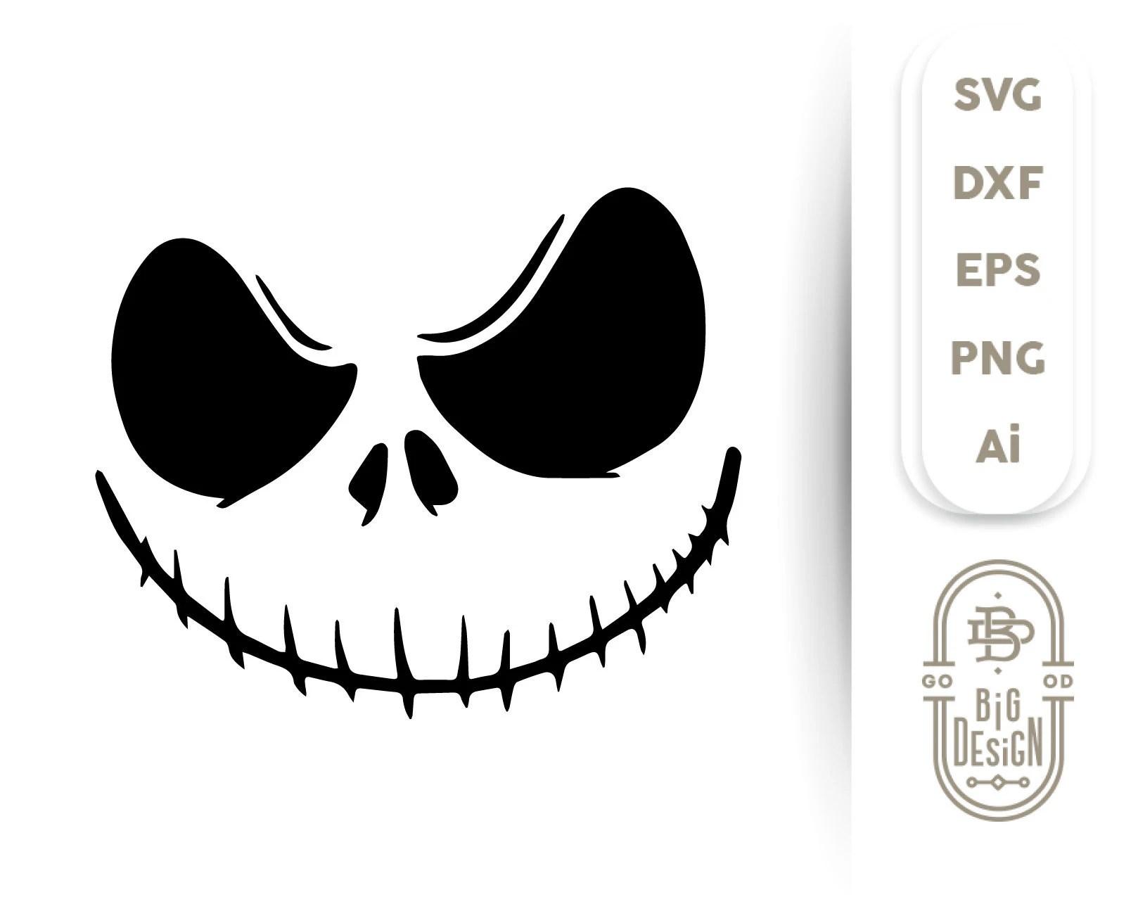 jack skellington svg - HD1618×1285