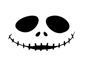 Skellington face | Etsy