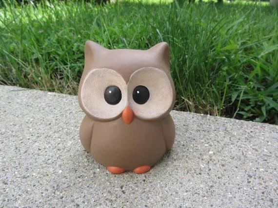 Image of: Compilation Image Etsy Ceramic Owl Cute Owl Bird Owl Decor Owl Gift Woodland Etsy