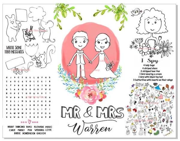 wedding coloring page # 11