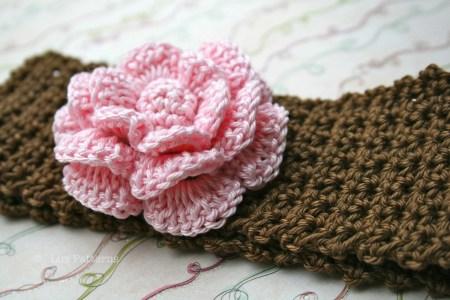 Crochet Flower Headwrap Beautiful Flowers 2019 Beautiful Flowers