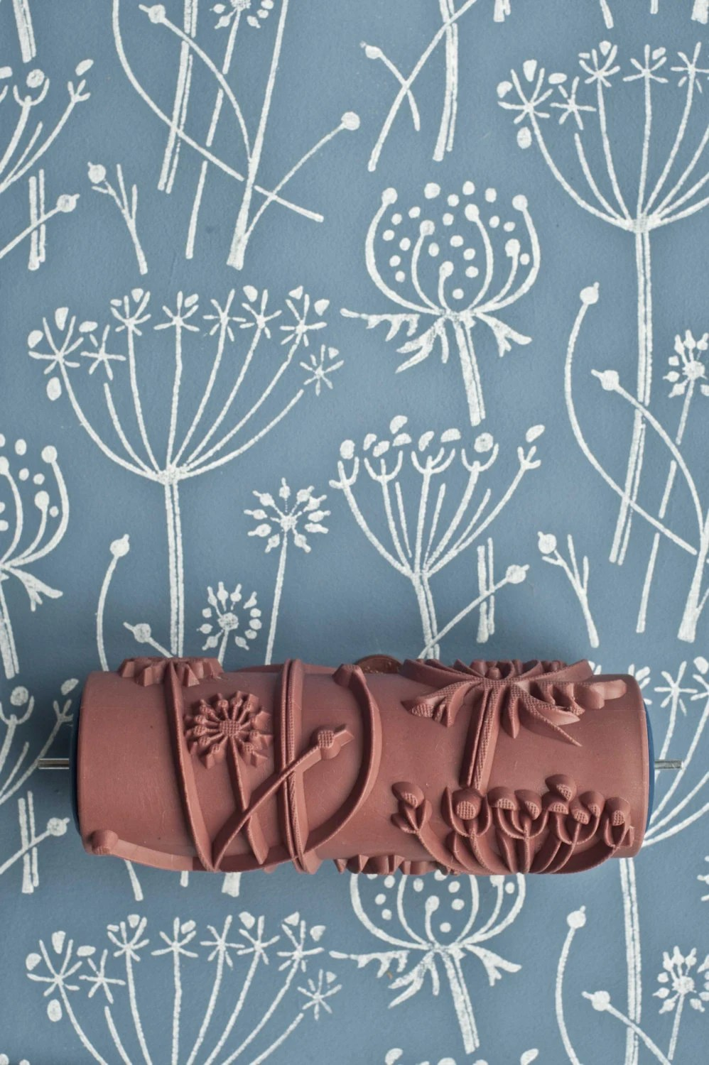 The Painted House by patternedpaintroller on Etsy Tussock patterned paint roller