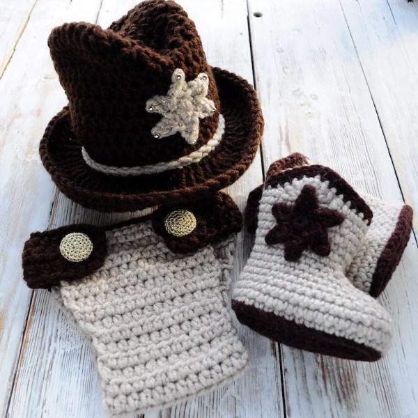 cowboy hat crochet sombrero vaquero pattern # 14