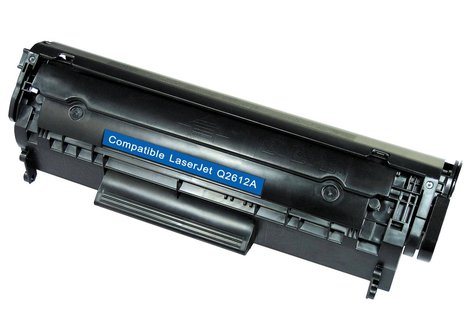 Q2612a 12a Black Toner Cartridge For Hp Laserjet 3015 3020