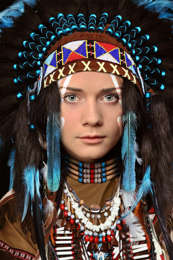 Beautiful Native American Costume