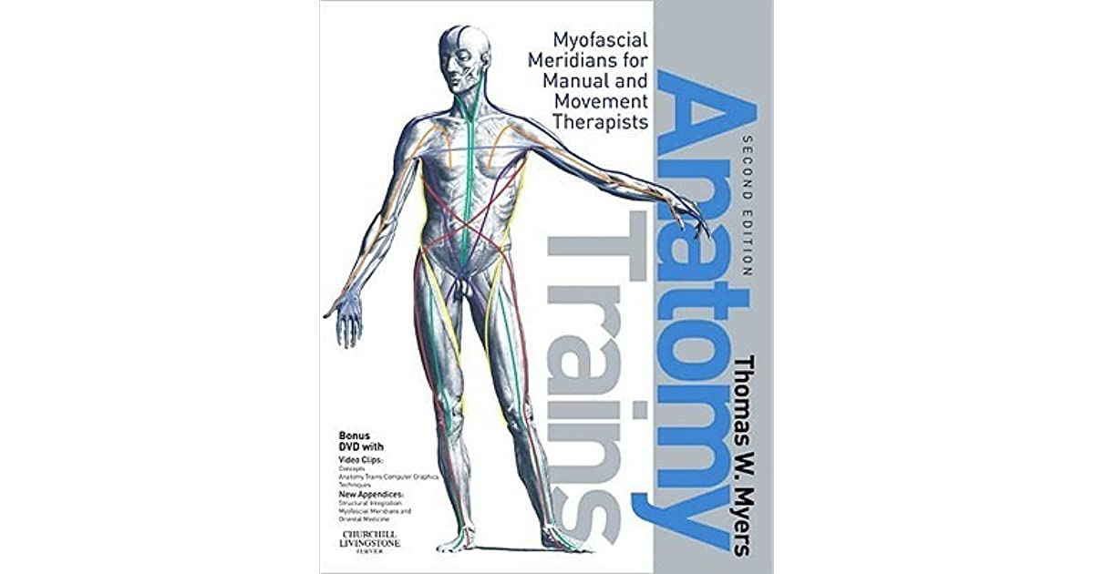 Thomas Myers Anatomy Trains Book Cover