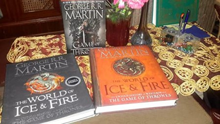 The World of Ice   Fire  The Untold History of Westeros and the Game     A huge size tome  not many pages though  Yet it s very elegant