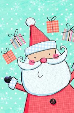 99 Heart-warming Cartoon Christmas Cards   GraphicMama Blog