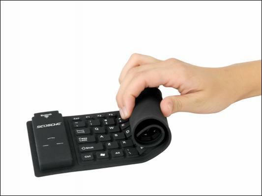 Roll Wireless Keyboard Compatible Ipad