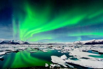 Aurora Borealis, Northern Lights Photographed Above ...