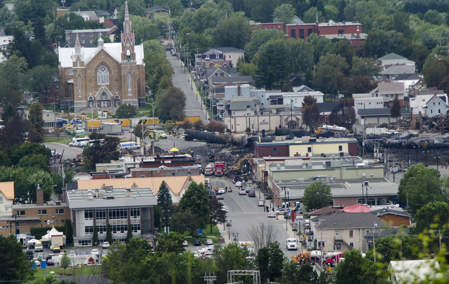 Lac-Megantic: 5 More Bodies Found, 33 Confirmed Dead ...