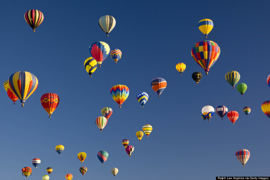 2014 New Years  Blessings From Religious Leaders   HuffPost hot air ballooning