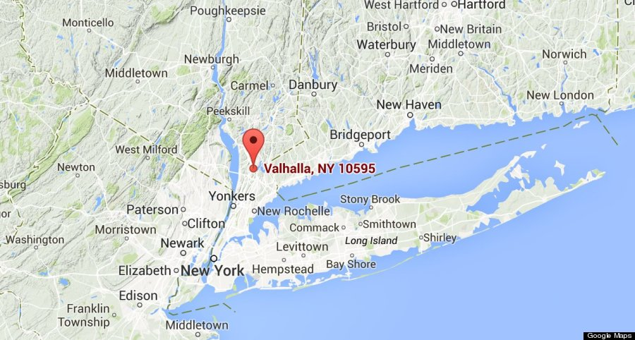 Valhalla New York Map.Valhalla Ny Map