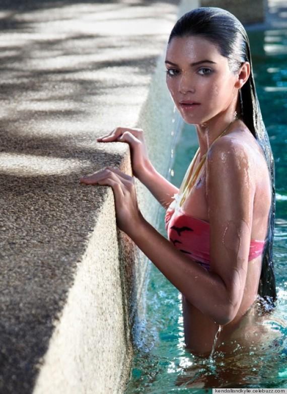 Kendall Jenner Bikini Shoot Overly Airbrushed Photos