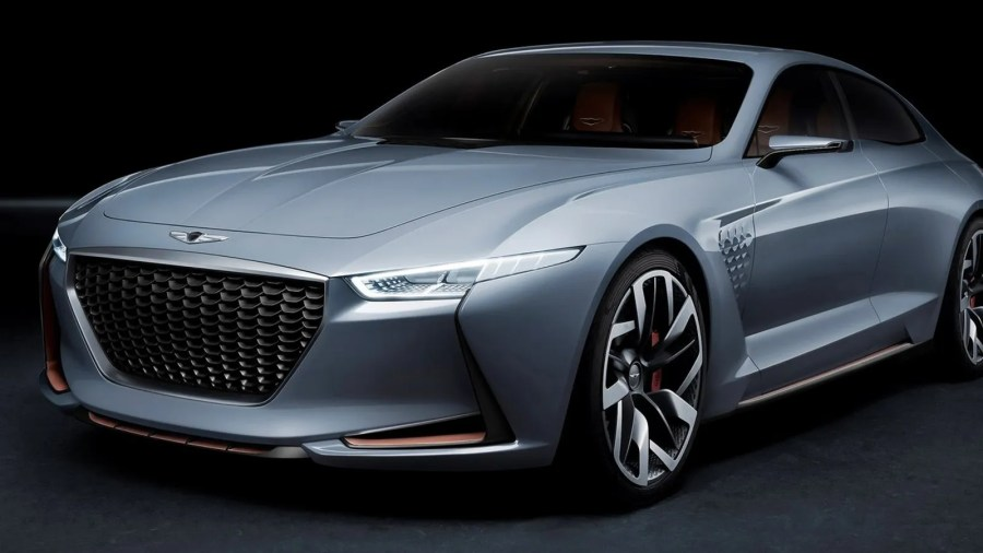 The Genesis New York Concept Imagines A Korean Hybrid BMW Fighter
