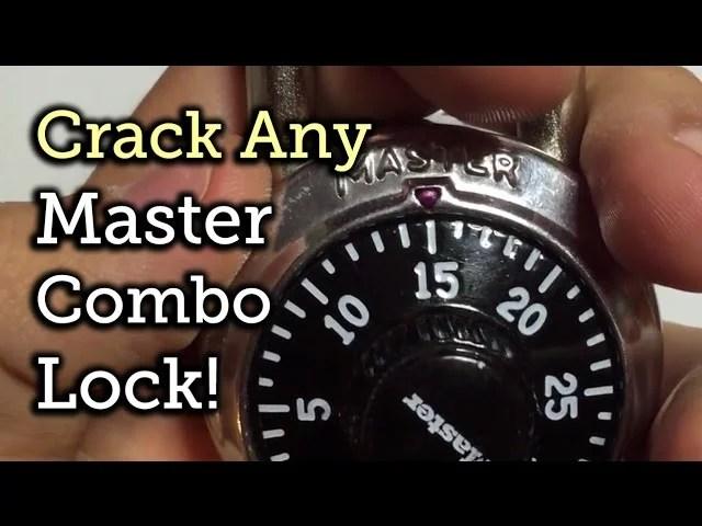 Master Combination Padlock