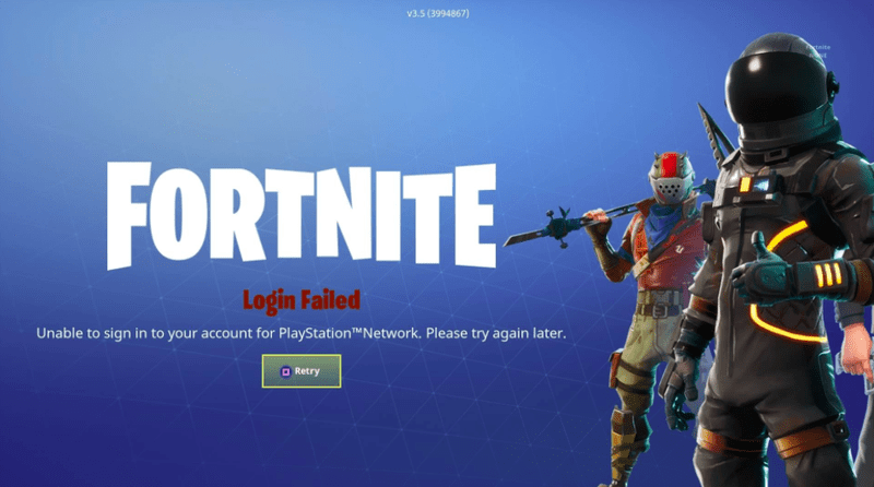 Fortnite Is Down  Update  It s Back  Plus Rewards  If you tried to log into Fortnite last night and couldn t get past the  start screen  you re not alone  The wildly popular battle royale game has  had server