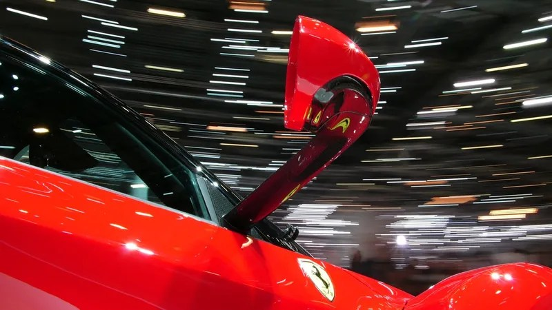 The Sexiest Supercar Wing Mirrors