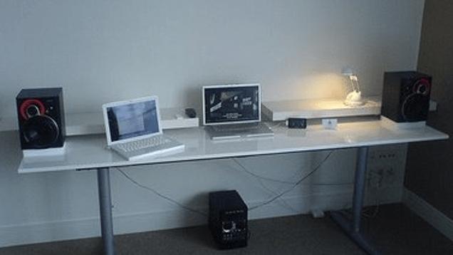 Turn An Ikea Door Into A Computer Desk