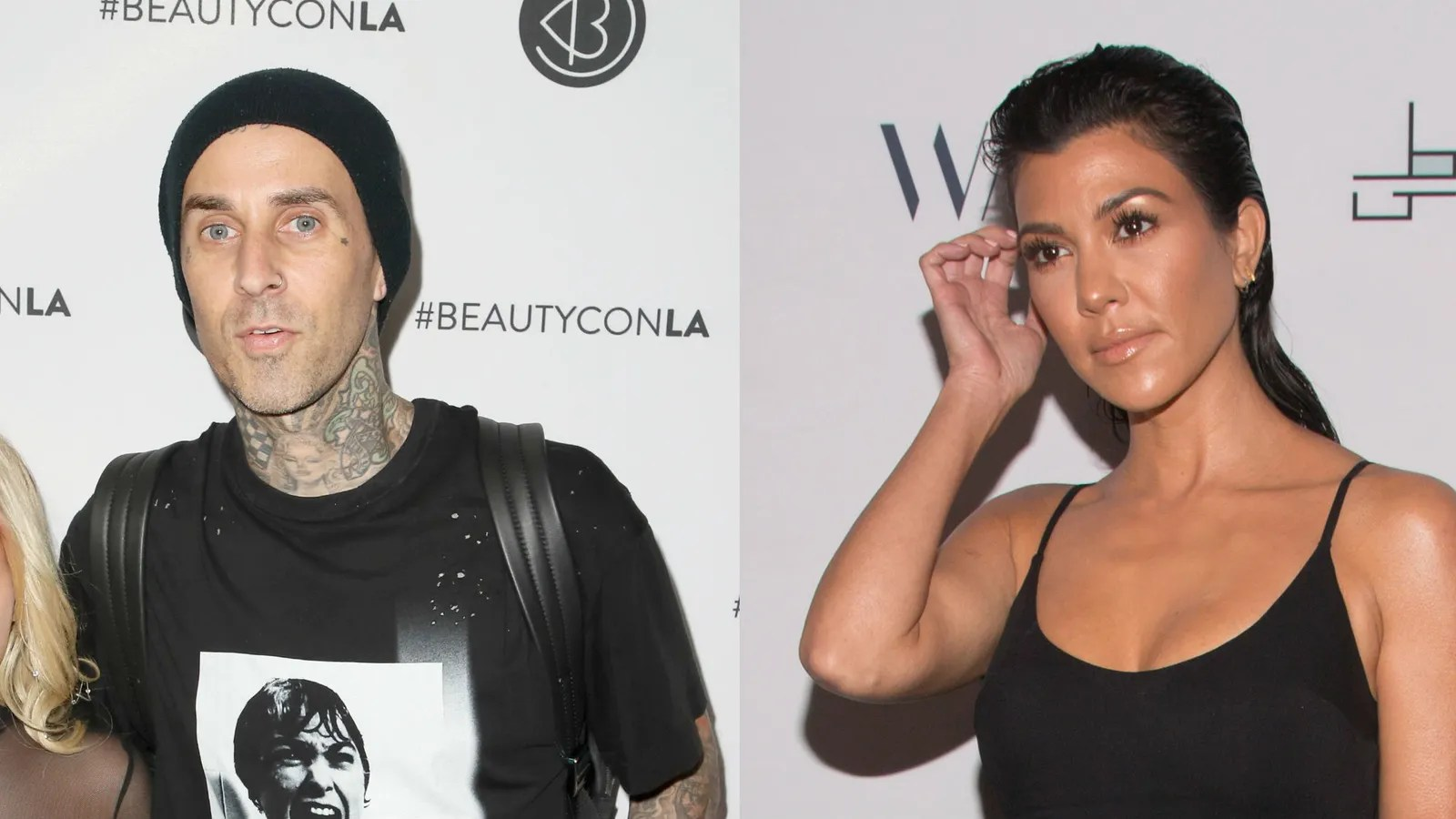 Kourtney Kardashian and Travis Barker Spotted Hanging Out