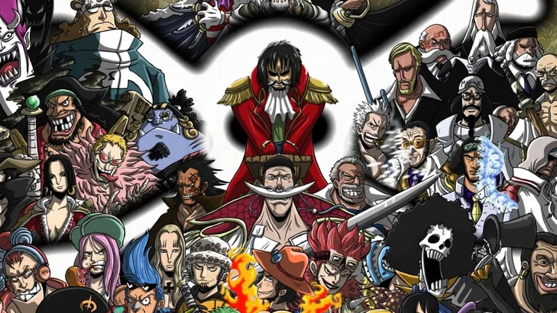 One Piece Characters Look Very, Very Familiar