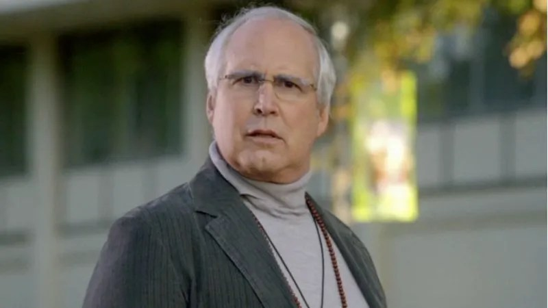 Chevy Chase has left Community Chevy Chase is no longer a Human Being  Well  he s still a human being  but  he s no longer a cast member on Community  Deadline reports that the actor  has