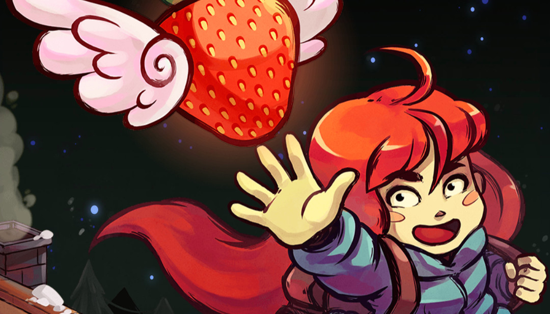 That s a huge strawberry   Celeste   Know Your Meme Celeste TowerFall cartoon art fictional character