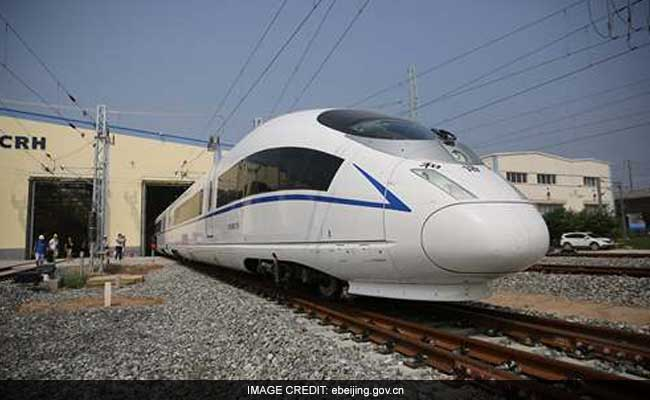 China To Launch World's Fastest Train Next Month: 380 Kms ...
