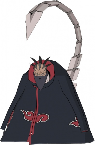 Naruto Shippuden Clash Of Ninja Revolution Iii Concept Art