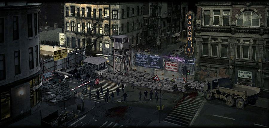 Zombies Resident Evil 4 Psp