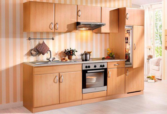 WIHO KÜCHEN Küchenzeile mit E-Geräten »Prag«, Breite 270 ...