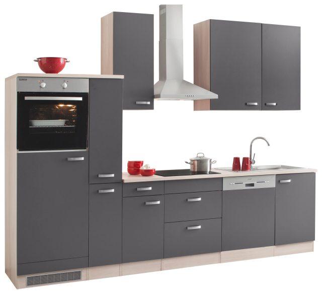 Küchenzeile ohne E-Geräte, OPTIFIT, »Faro«, Breite 300 cm ...