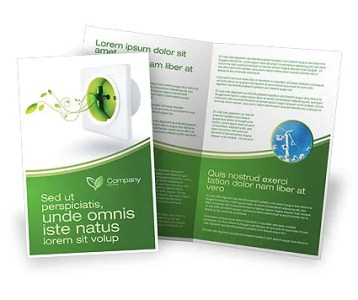 Green Socket Brochure Template Design and Layout  Download Now     Green Socket Brochure Template  04502  Careers Industry      PoweredTemplate com