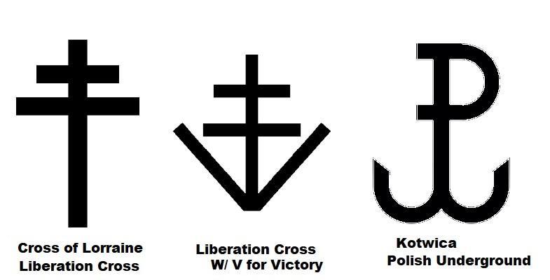 Ww2 Resistance Groups Symbols