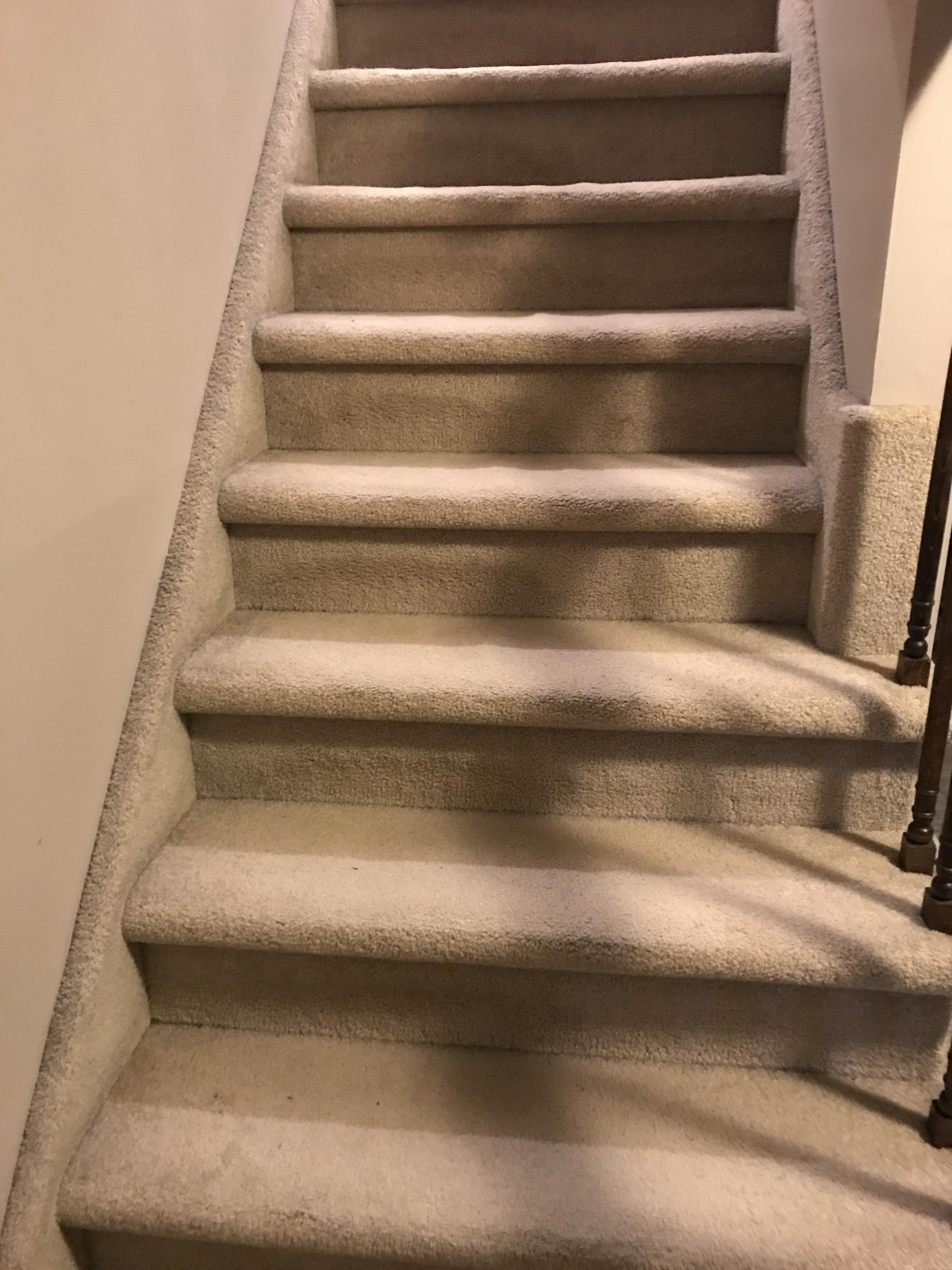 I Did Not Convert My Carpet Stairs To Hardwood Notinteresting   Converting Carpeted Stairs To Hardwood   Stair Case   Treads   Staircase Makeover   Stain   Wood Flooring