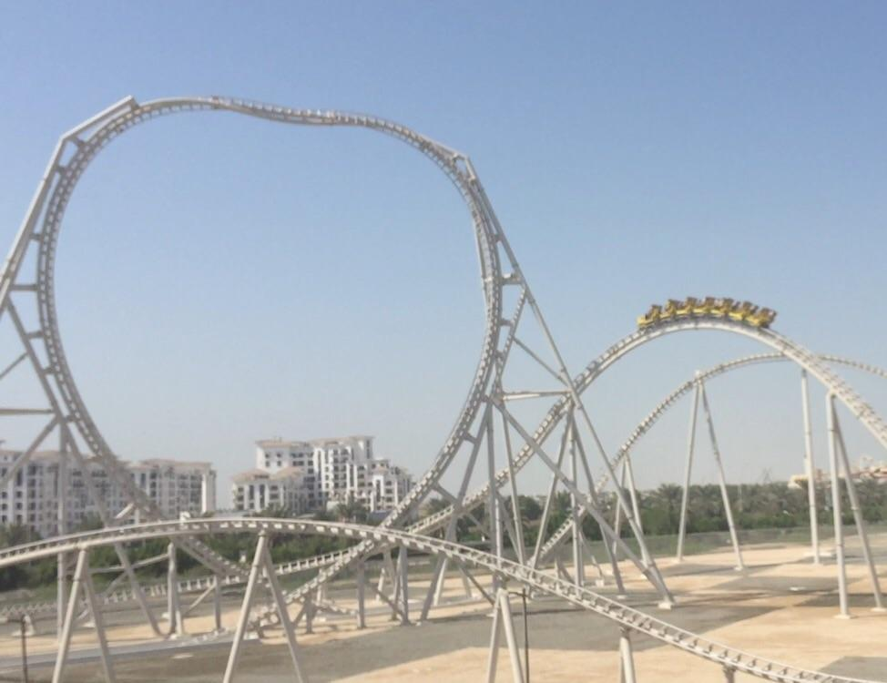 world's fastest roller coaster - 974×750