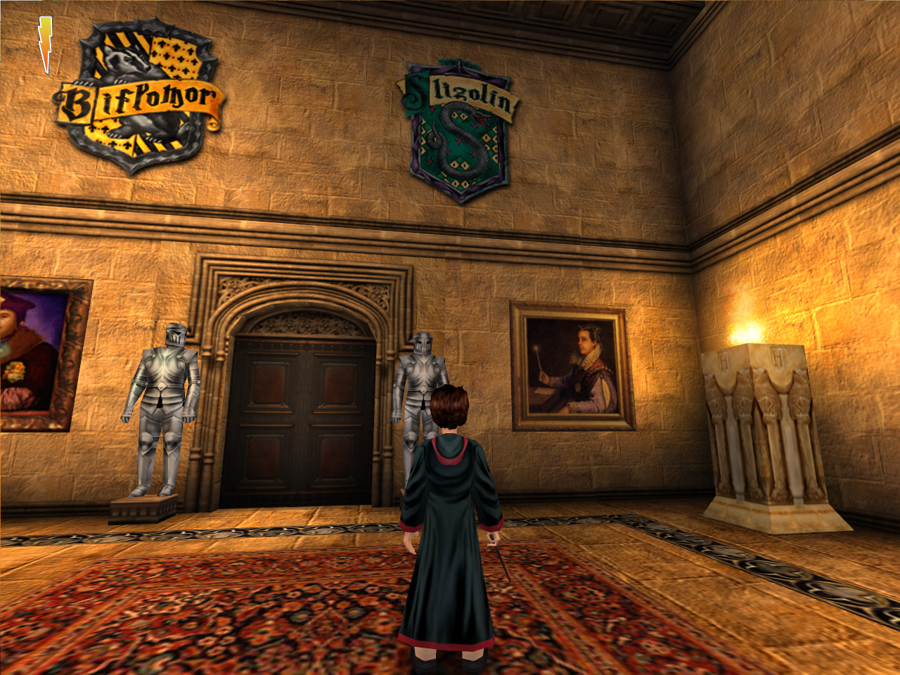 For 2001  Harry Potter and the Philosopher Stone  PC  has some     ScreenshotFor 2001  Harry Potter