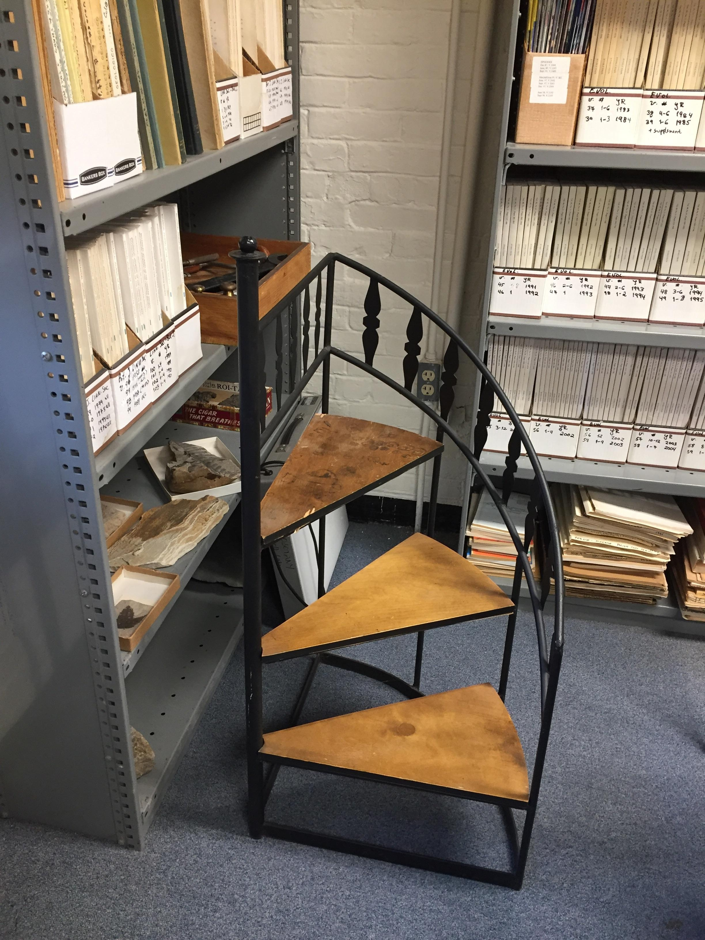 This Old Step Ladder Is A Mini Spiral Staircase Mildlyinteresting | 10 Ft Spiral Staircase | Handrail | 36 Tall | Arke Phoenix | Stair Kit | Arke Enduro