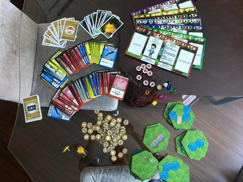 PUBG Fortnite Battle Royale inspired board game   I just got the     Check out a picture of the contents
