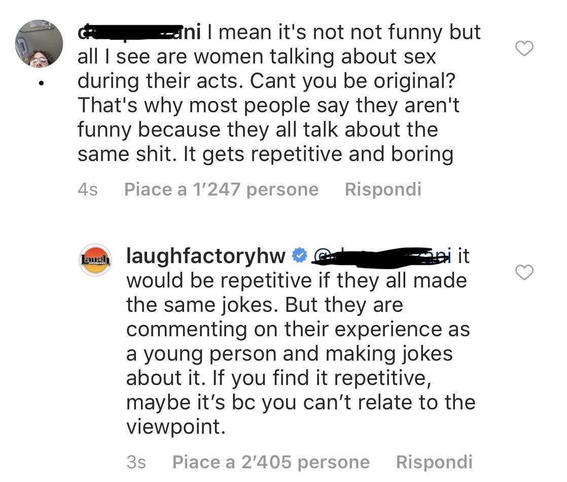 Laugh Factory Yo Momma