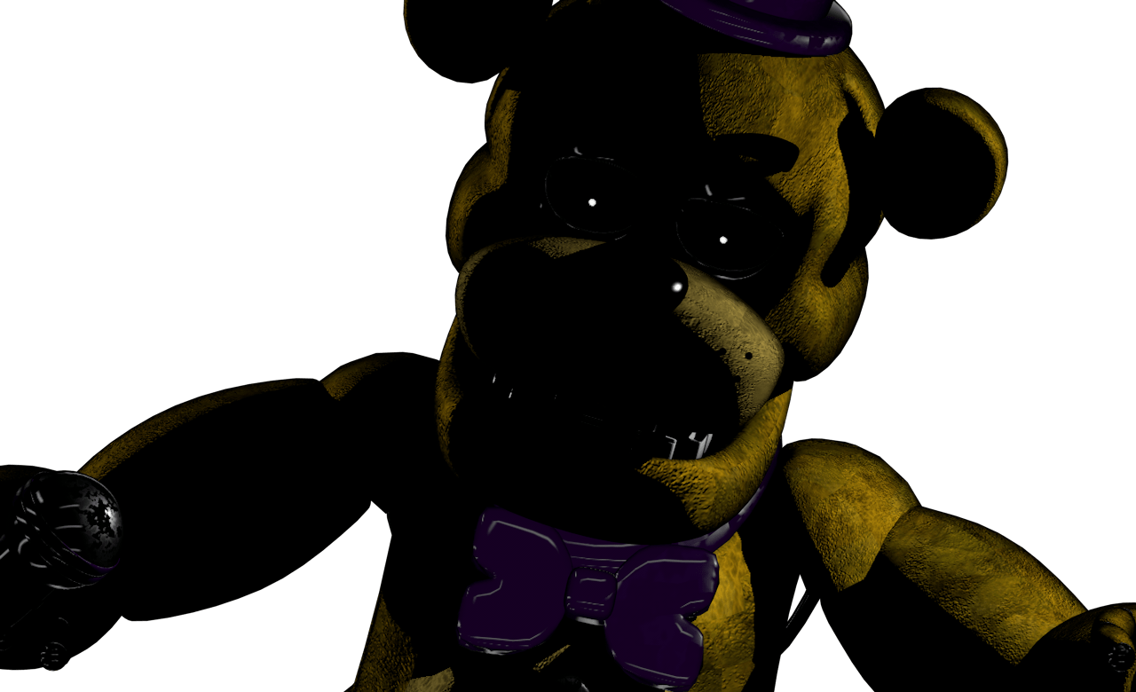 Freddy Scare Jump Golden Withered