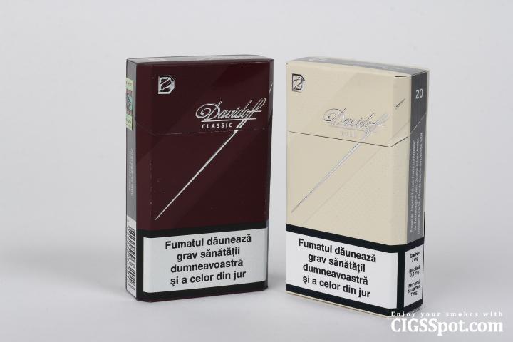 Davidoff. History and Reviews. : Cigarettes