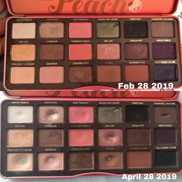 sweet peach palette # 14