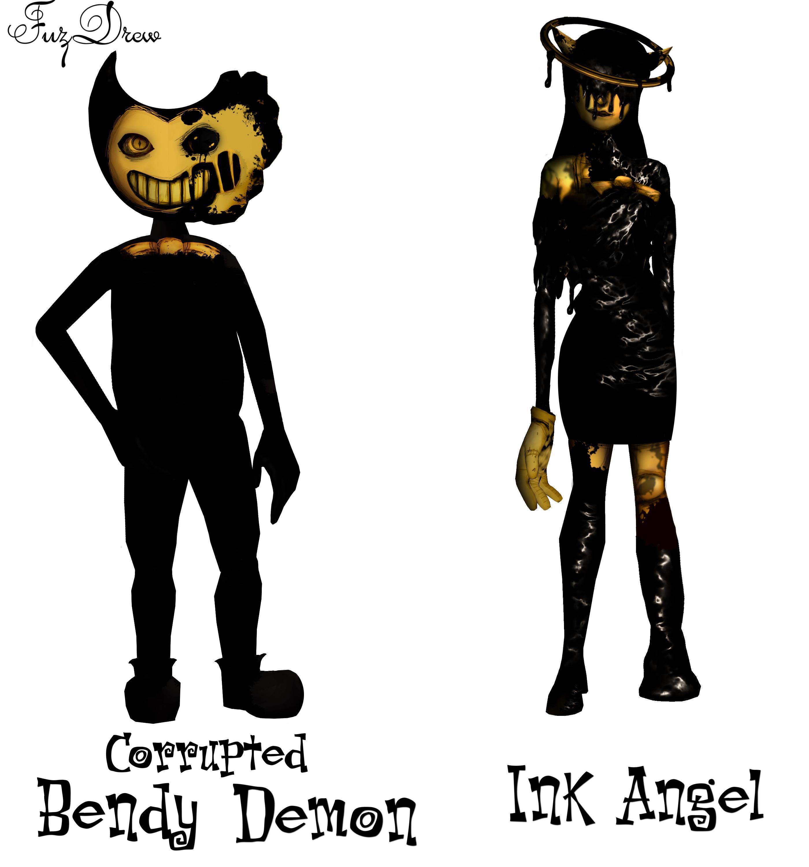 Bendy Skin And Alice Machine Monster Ink Minecraft