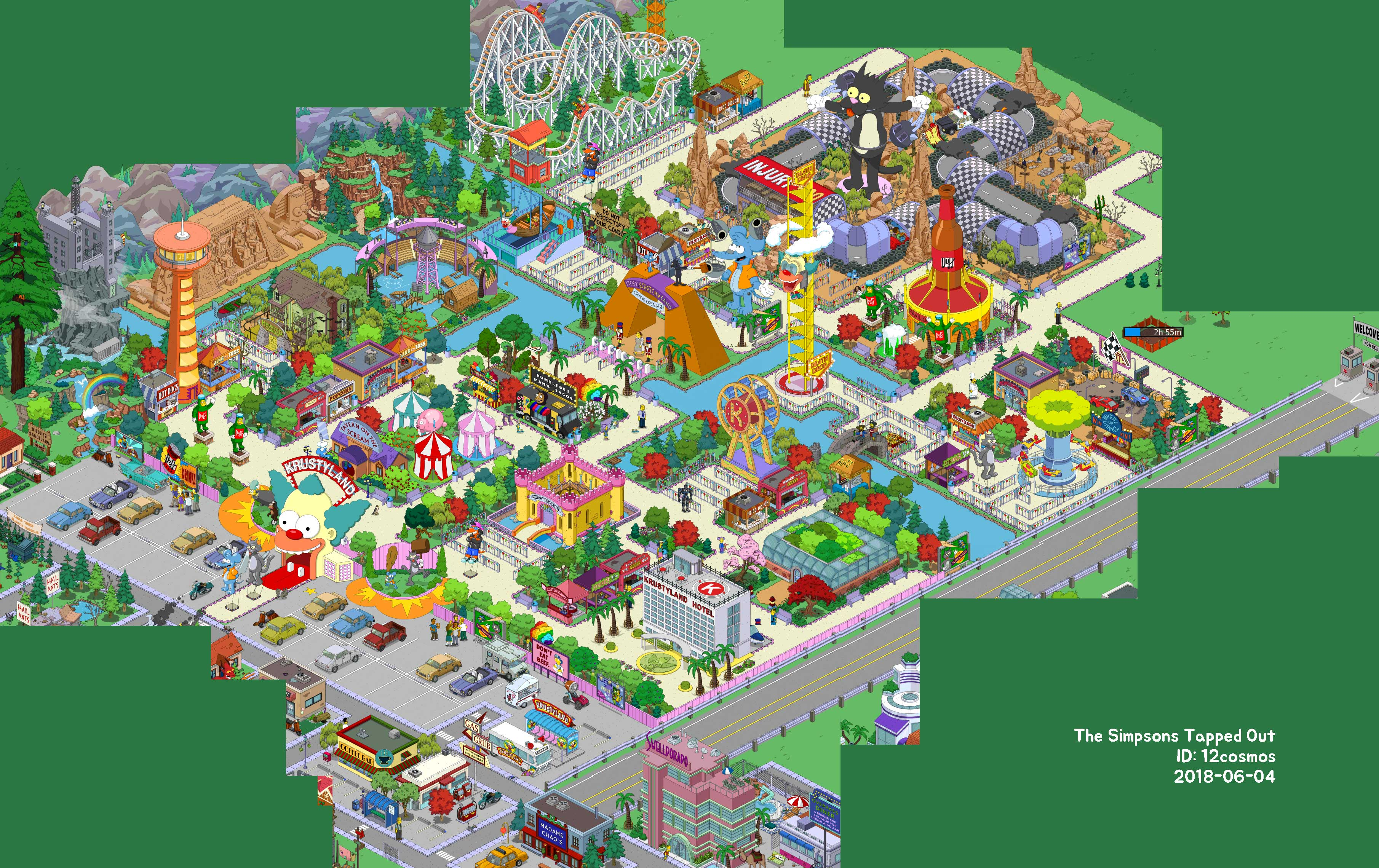Out Ideas Krustyland Tapped Simpsons