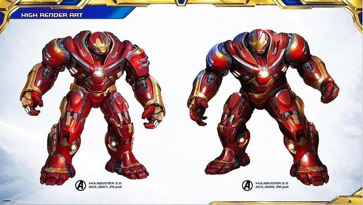 Black And Gold Armor Iron Man