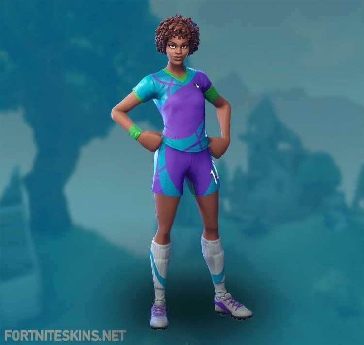- white soccer skin fortnite